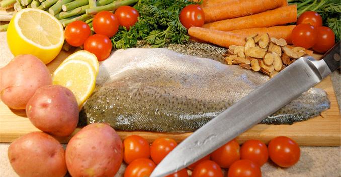 Técnicas básicas de cocina: Cómo trocear el pescado