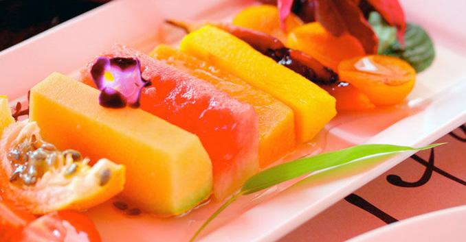 Cenar sólo fruta para adelgazar