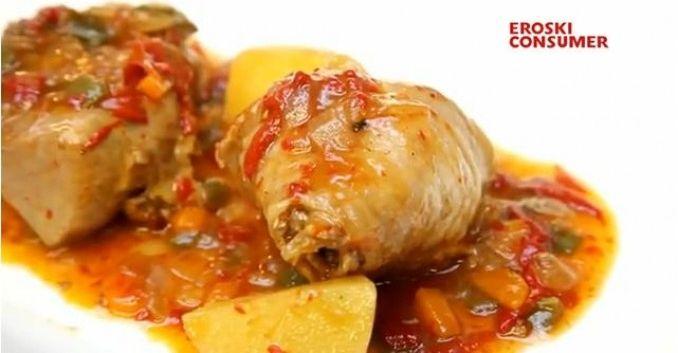 Estofado de pavo con patatas