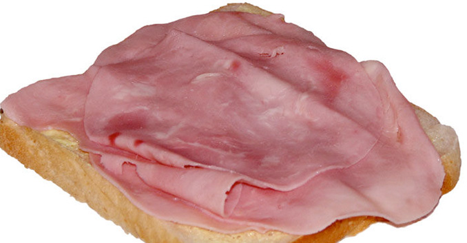 Análisis de 8 muestras de jamón cocido