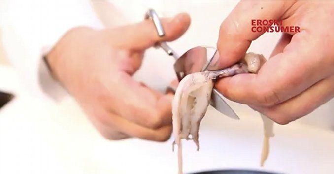 Cómo limpiar calamares