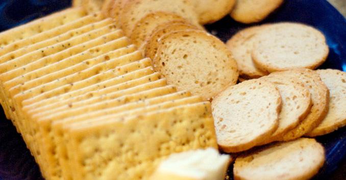 Análisis de 7 panes tostados y biscotes