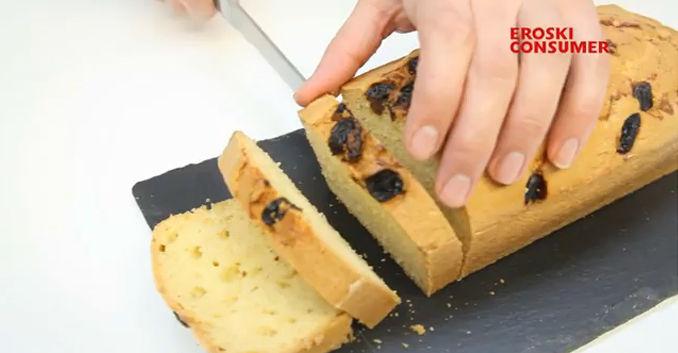 Receta de plum cake con pasas