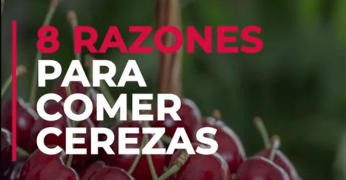 8 razones para comer cerezas