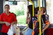 En Vitoria, los buses más baratos