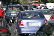 Nalgunhas cidades o tráfico é tres veces máis lento ca noutras