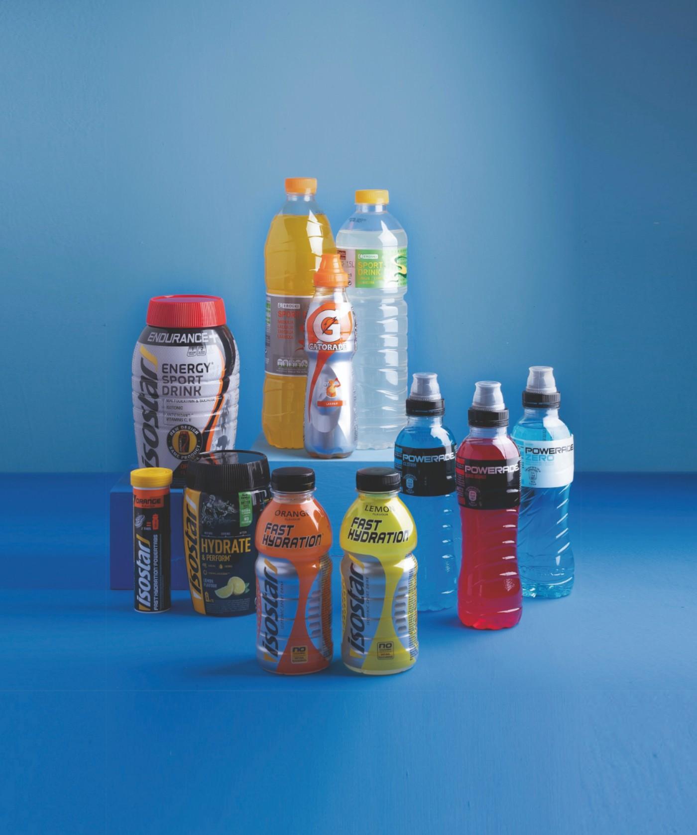 Kirolerako edariak: hidratazioaren garrantzia