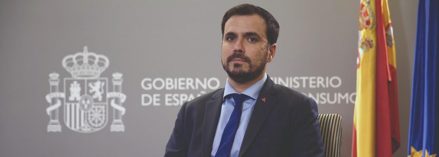 Entrevista: Alberto Garzón, ministro de Consumo